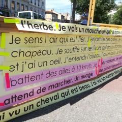 Le mot dans la ville - avec les enfants - 19 juin